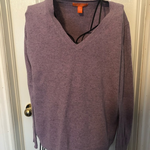 Lightly used lavender sweater